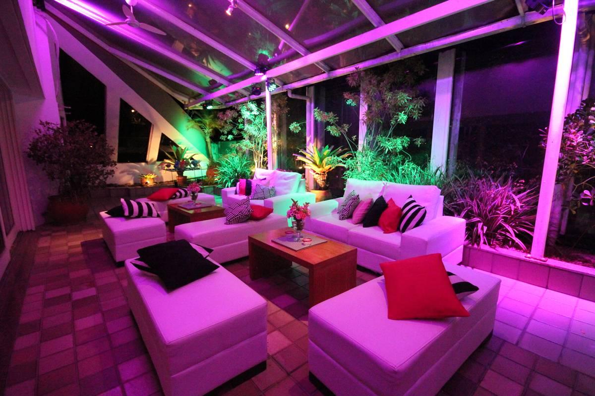 Tipos de Louges para Festas de 15 anos - Festas para Debutantes - Club Lounge