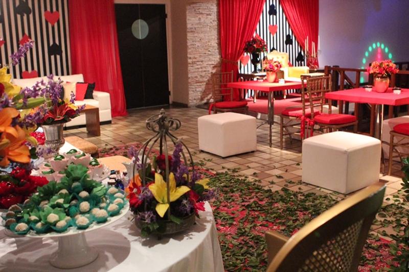 Festa de Debutante Club Lounge salão pedra da gávea